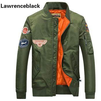 Flight Jacket Pilot Air Force Men Bomber Jackets Zipper Coat New Men Style Baseball Veste Homme Casual Army Pilot Jacket Male 70