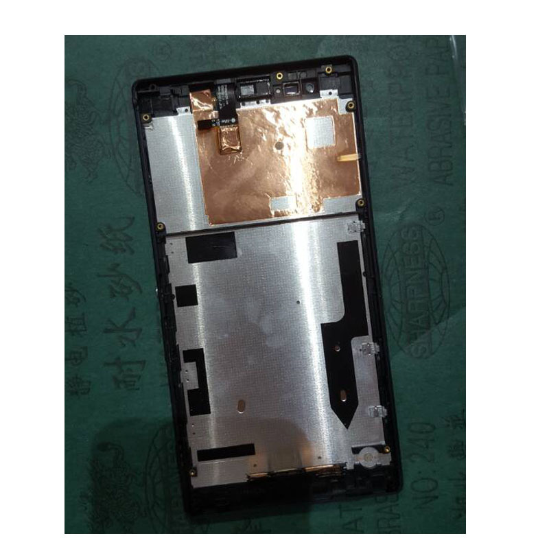 LCD Display+Touch Screen Digitizer+Frame FOR Sony Xperia T2 Ultra dhl 10 pcs free shipping lcd display touch screen digitizer with frame replacement for sony for xperia t2 ultra dual d5303 d5306