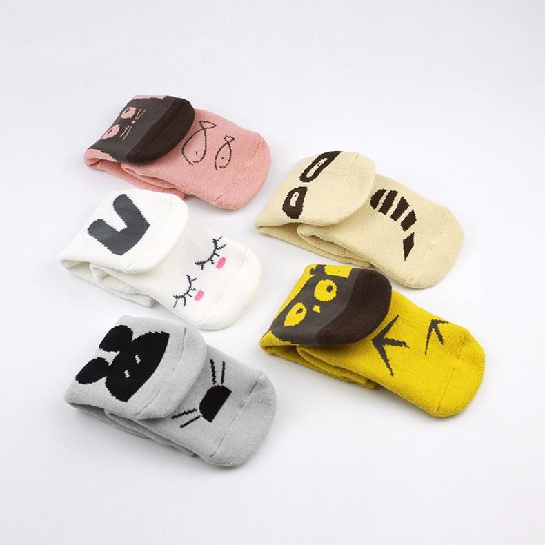 Children Sock Baby Boys Girls Socks Kids Lovely Winter Warm Cotton Socks Christmas Gift Spring Summer Newborn Baby Cartoon Socks