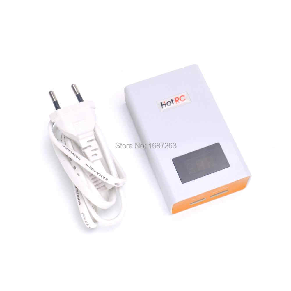 HotRC A400 3 S 4S 3000 мА/ч, провод с силикатной гелевой Батарея баланс Зарядное устройство 11,1 V 14,8 V с АБС огнестойкий материал оболочки для Lipo Радиоуправляемый fpv-дрон