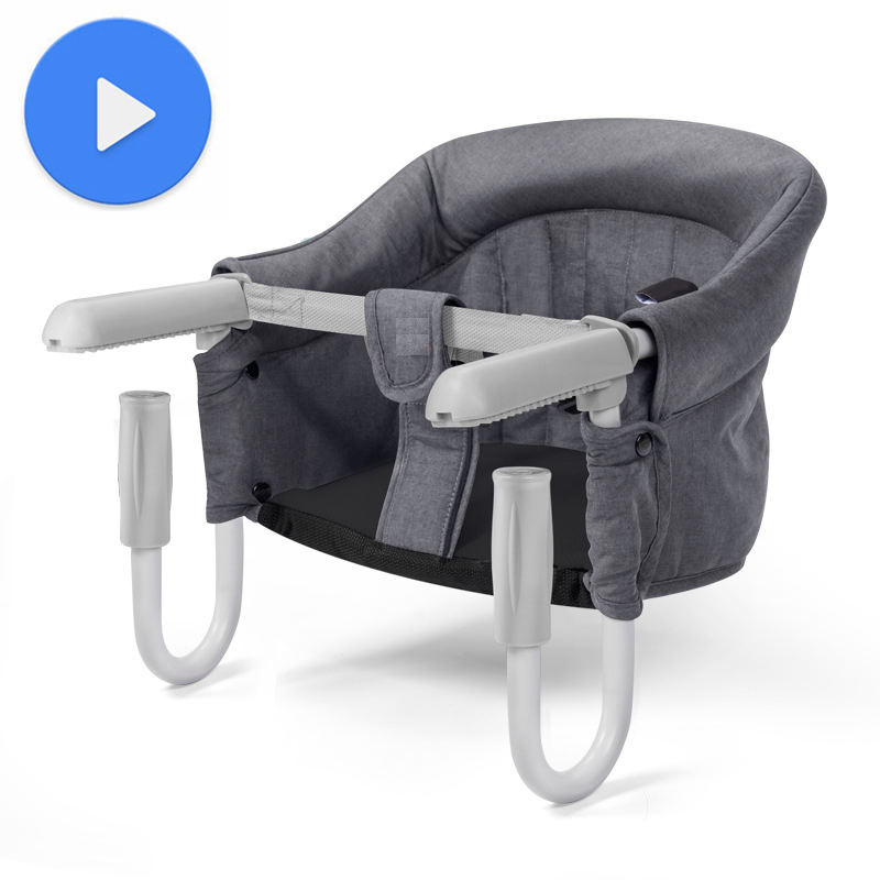 Baby Chair For Kids Seat Sofa Toddler Children Sitting Chair Feeding Infant  Portable Dropshipping Baby Sitting Support Gray
