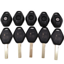 A Quality 3 button Uncut Remote Car Key Case Shell For BMW 3 5 7 Series