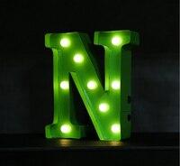 Novidade carta marquise luz do sinal  12 polegada de Altura  assinar Cartas  lâmpada LED letras