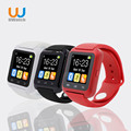 Smartwatch Bluetooth U80 Hot Smart Watch android MTK for iPhone IOS Samsung S4/Note HTC xiaomi for Android Phone PK U8 GT08 DZ09