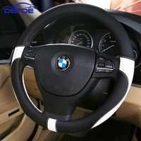 2017 Sport Leather Car Steering Wheel Cover Car Styling Environmental Protection Not Smelly Diameter 38 Cm