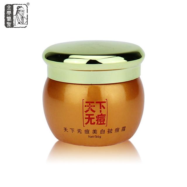 Sin acné espinillas blanqueamiento hidratante Anti envejecimiento tratamiento del acné crema para la medicina Herbal china cremas belleza cuidado de la cara