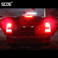 SCOE 6 Pcs Set For Skoda Octavia 2012 Turn Signal Light 2 Pcs And Brake Light