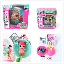LOL Surprise dolls Unpacking Dolls Dress Up Toys Models Baby Funny Toys Girl Gifts doll surprise