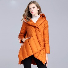 2017 new arrival winter duck down jacket women long coat parkas thickening Female Warm Clothes  High Quality
