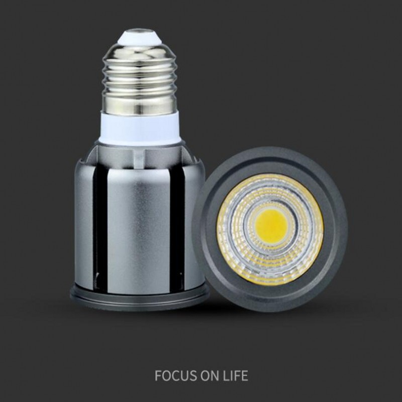 LED Bulbs COB E27 E14 GU10 MR16 9W 12W 15W 20W 25W Dimmble Spotlight LED Down Spot Lighting Warm White White Home LED Bulb Lamp