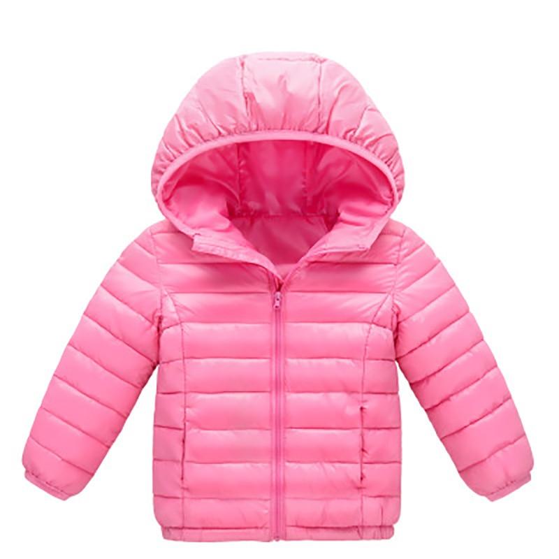 2ba9786aa88 0 4Year Baby Girls Boys Parka Light Kids Jacket Hood Duck Down Coat ...