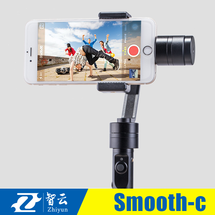 DHL EMS Free IN Stock  Z1 Smooth  C Plus 3-axis Smartphone Gimbal Stabilizer for iPhone 6 plus Samsung S5 S6 YotaPhone XIAOMI  dhl ems 5 lots new in box om ron d4na 412g e1