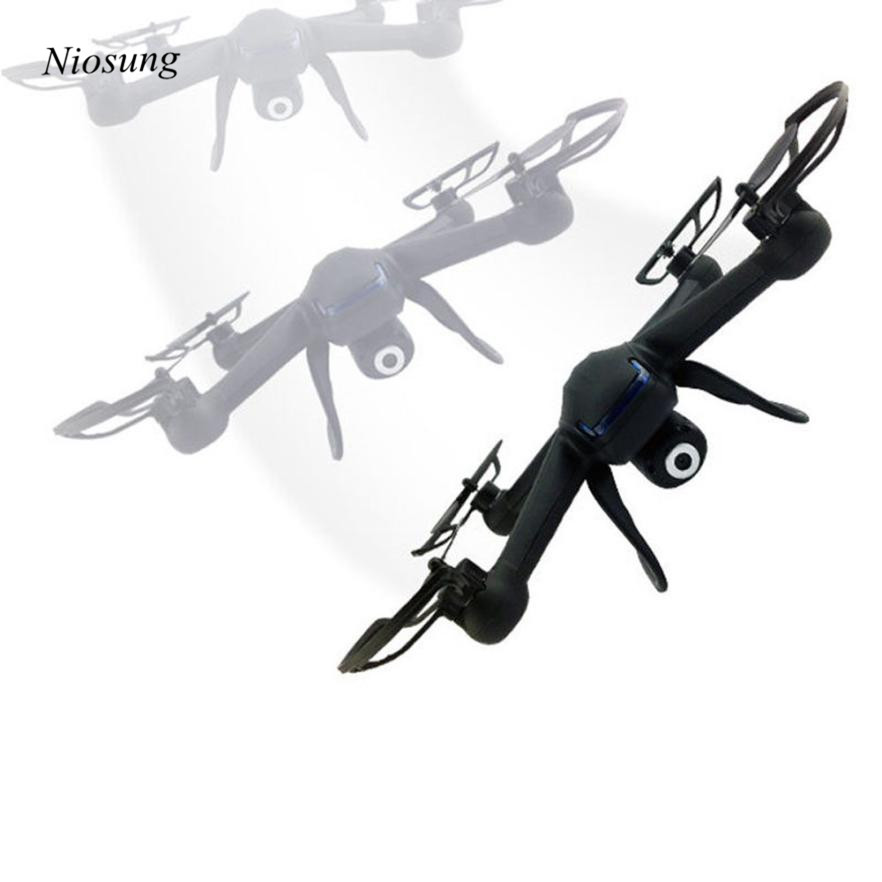 Niosung Modern High Quality 2.4G 4CH 6 Axis RC Quadcopter Drone With 2MP HD Camera RTF + 2PC Battery