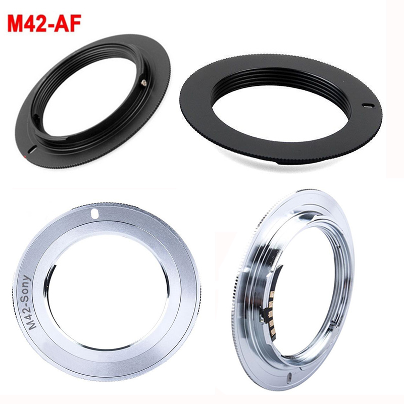 Foleto M42 Lens To Alpha A AF Minolta MA Mount Chip AF Confirming Adapter Ring For SONY A900 A550 A850 A37 A65 A57 A390 A55