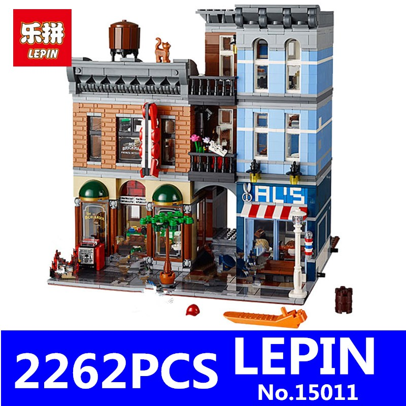 LEPIN 15011 2262Pcs Parisian Creator Expert City Series Restaurant Avengers Assemble Street Building Blocks Bricks Toys Gift lepin 15011 parsian creator expert city street resturant minifigure avengers set assemble building blocks toys compatible legeod