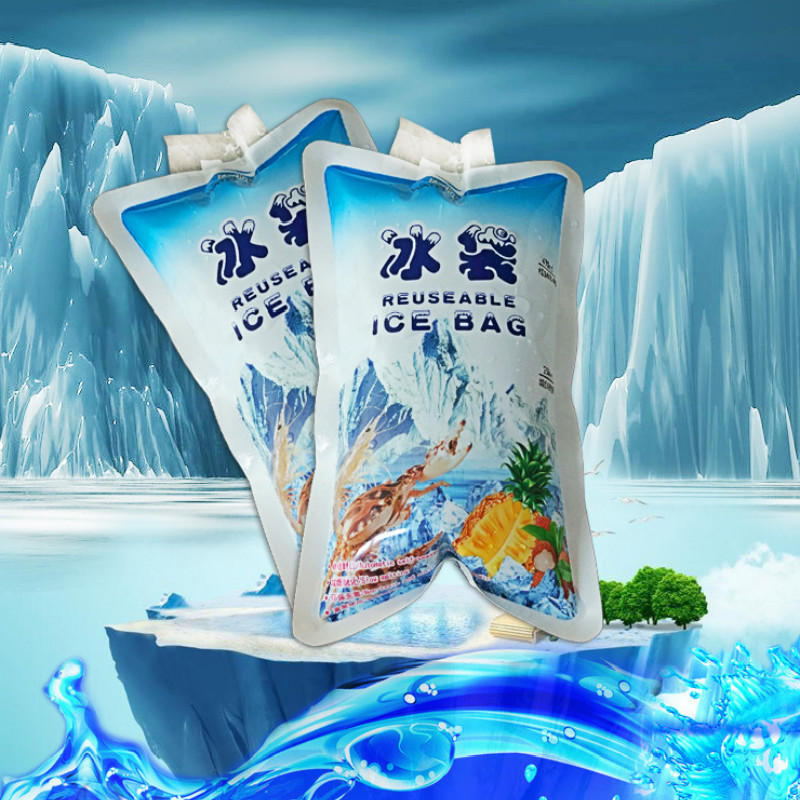100Pcs 400Ml Water Injection Ice Bag Insulated Ice Pack -7488