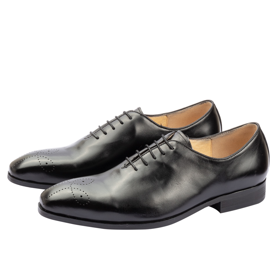 Formal Shoes Men's Shoes Cooperative Business Man Leather Shoes Mens Cowhide Lace Up Europe Large-size 11 12 Formal Dress Oxfords Casual Office Shoes Price Remains Stable