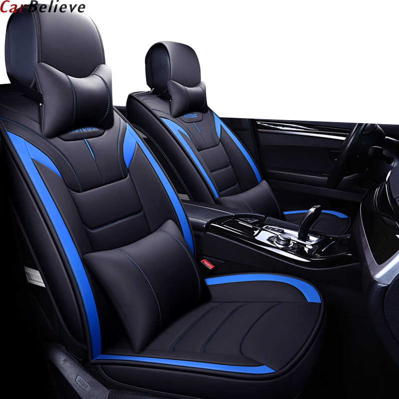 Car Believe Auto Leather Car Seat Cover For Mazda 6 Gh Cx 5 Cx3 6 Gg 3 Bk 626 Voyager Car Accessories Covers For