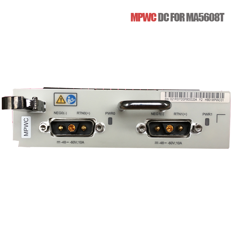Hua wei MPWC Board DC -48V Power Module <font><b>MA5608T</b></font>] MPWC Board GPON EPON OLT Dual DC power card, Embedded Power system image