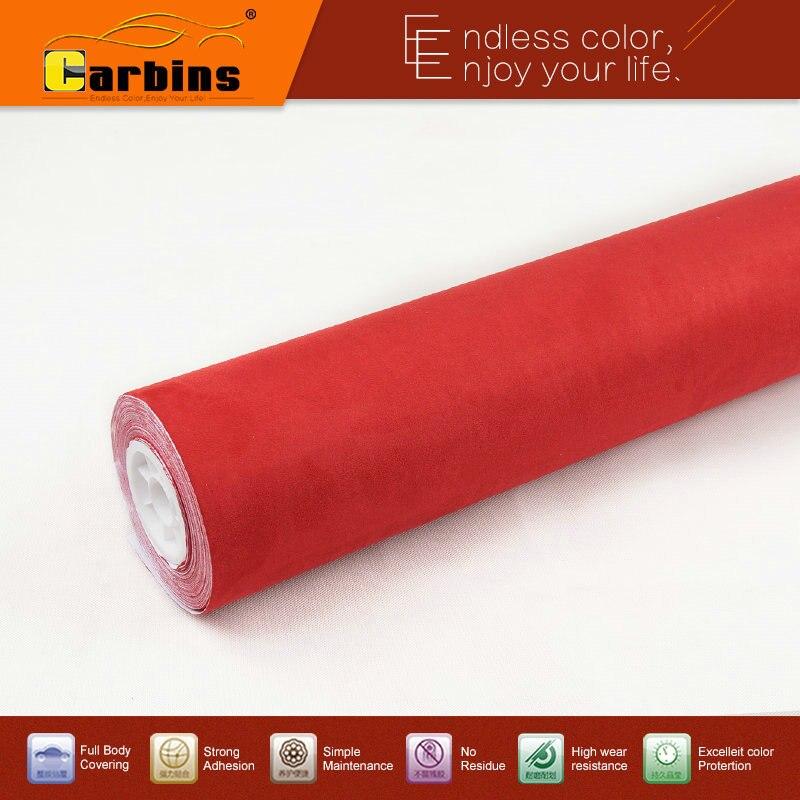 Carbins пленки самоклеющиеся Alcantar-ткань замши для салона автомобиля крыши