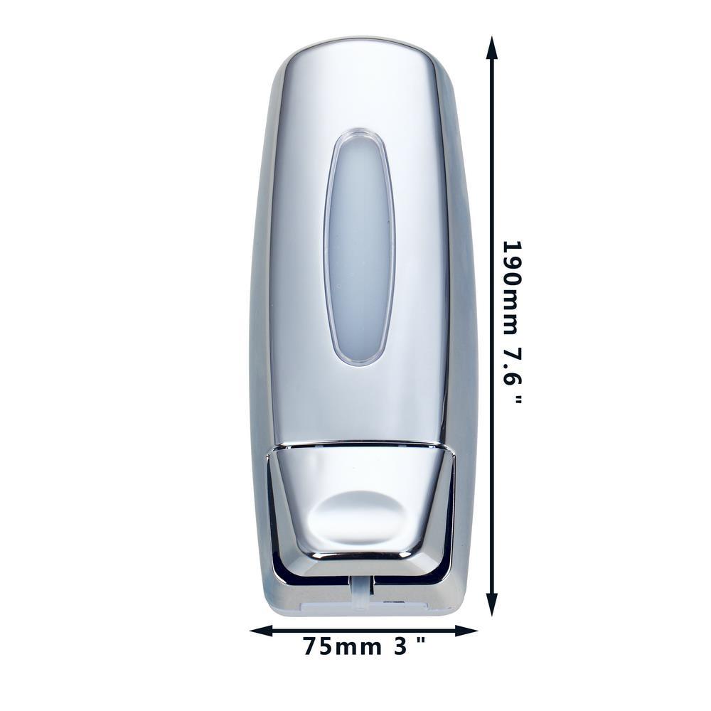 buy new brand wall mounted soap shampoo dispenser modern design bath shampoo bottle for bathroom accessories shower hotel from