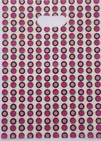 500 pçs/lote Frete grátis rosa Vermelha pontos sacos De Plástico Transportadora sacos de Embalagem sacos de compras Por Atacado 20*15 cm 015020016
