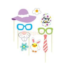 29 Pieces/Set Happy Easter Prop on Sticks