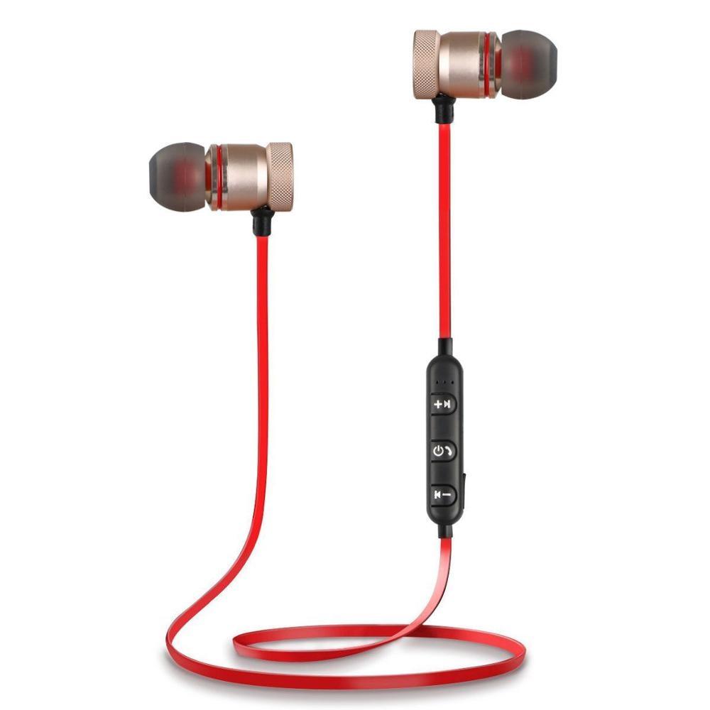New In-Ear Bluetooth Earphone Sport Sweatproof Stereo Handsfree Cordless Wireless Earpiece With Mic casque kulaklik for xiomi
