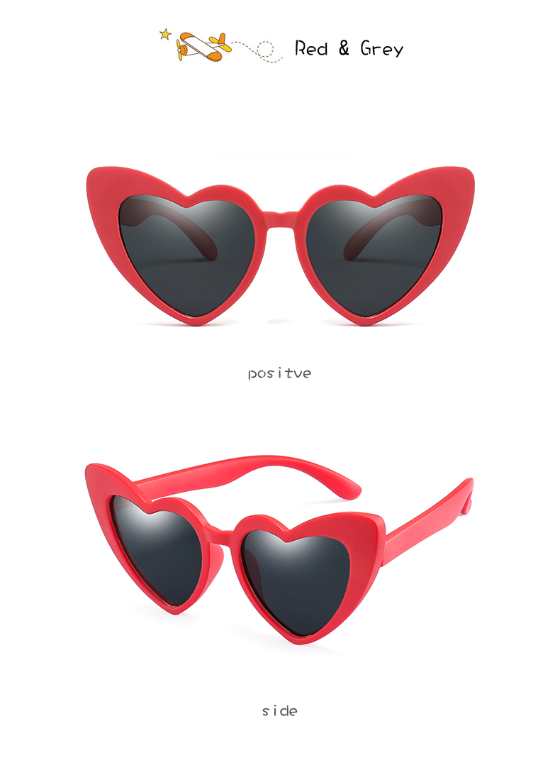 HTB1JeTfacTxK1Rjy0Fgq6yovpXah - LongKeeper baby girl sunglasses for children heart TR90 black pink red heart sun glasses for kids polarized flexible uv400