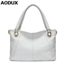 Aodux 4 цвета Пояса из натуральной кожи Для женщин Сумки на плечо Сумочка Ранец длинный ремешок сумка леди сумка