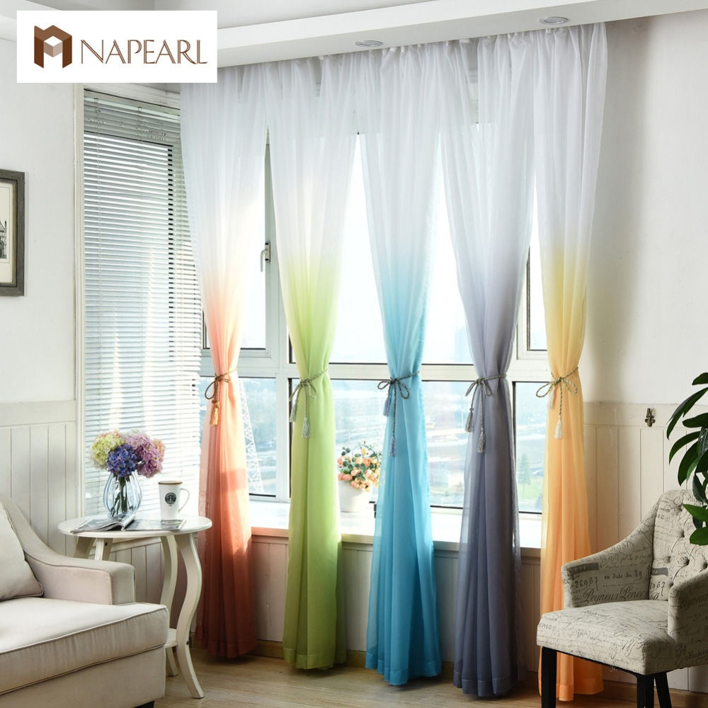 Online Get Cheap Sheer Colored Curtains -Aliexpress.com | Alibaba ...