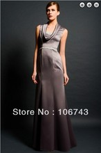 free shipping maxi elegant dresses 2014 Formal evening new fashion vestidos formales long crystal beaded gowns