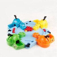 Hungrig Hippo Kind Lernspielzeug Geschenk Fütterung Hippo Swallow Perlen Tabelle Spiel Großer Spaß Familie Eltern-kind-interaktion Spielzeug