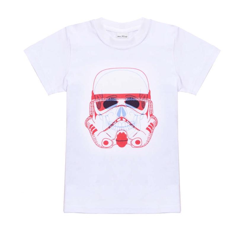 New 1-12years new summer short sleeve cotton t shirts boys star war cartoon teenage big children t-shirt kids tops boys t-shirt 3