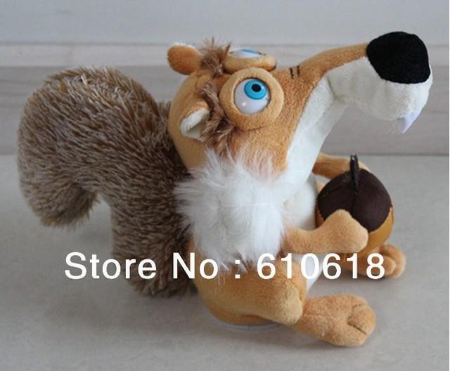 Free Shipping 1 Pcs Russian Language Talking Squirrel Repeat Speak Any Language Plush Toy Kids Educational Toys Electronic Pets