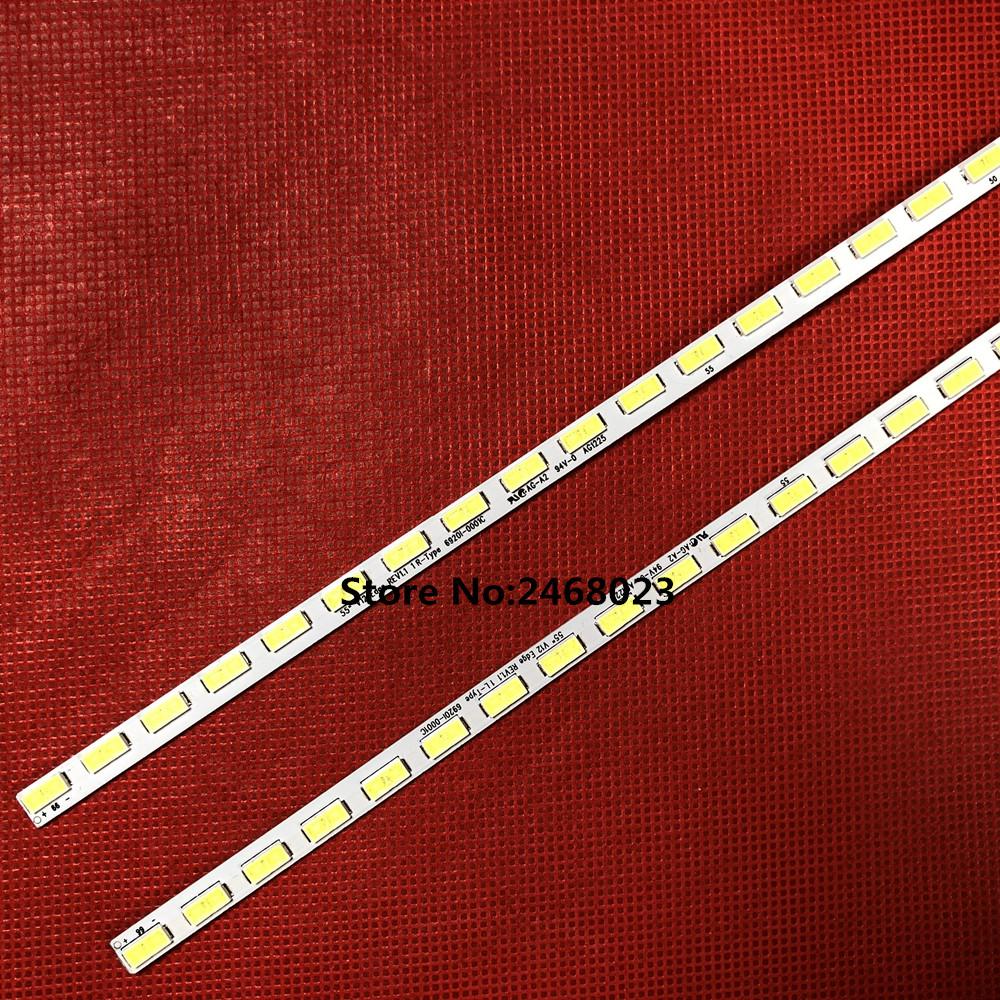 LED Backlight strip For LG 55LM6200 55LM4600 6920L-0001C 6922L-0003A 6922L-0004A LC550EUN SE F1 55E600Y 6916L0781A 6916L0782A