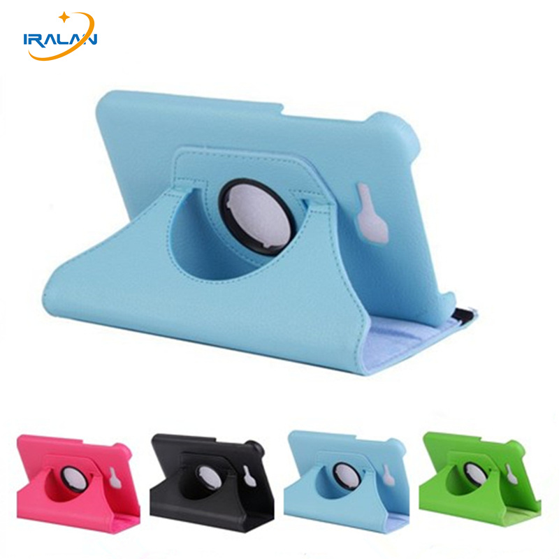 New 360 Degree Rotating Cover For Samsung Galaxy Tab 3 7 0 Lite T110 T111 T113