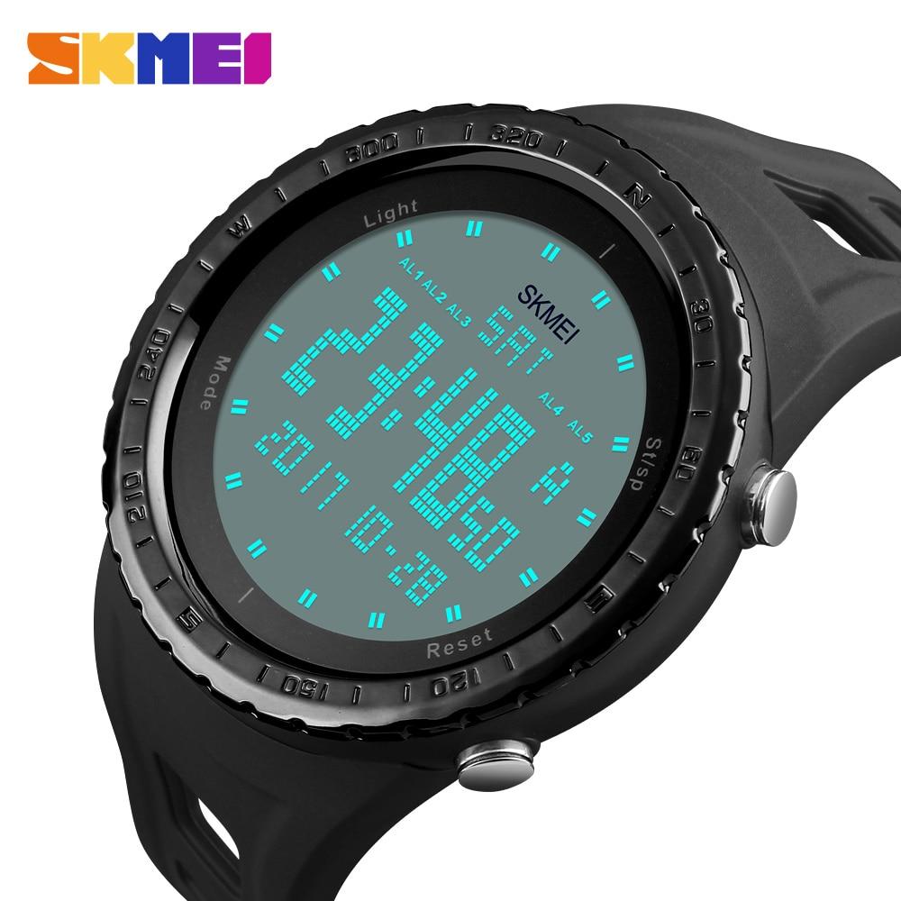 Military Watches Men Fashion Sport Watch SKMEI Brand LED Digital 50M Waterproof Swim Dress Sports Outdoor