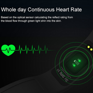 Image 3 - Smart Bracelet Fitness tracker Heart Rate Monitor passometer call message reminder Compatible for andriod ios pkhuawei Band