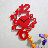 Wooden Wall Clock Wallpapers Clocks Modern Design Large Wall Clock Living Room Wall Watch Home Decor