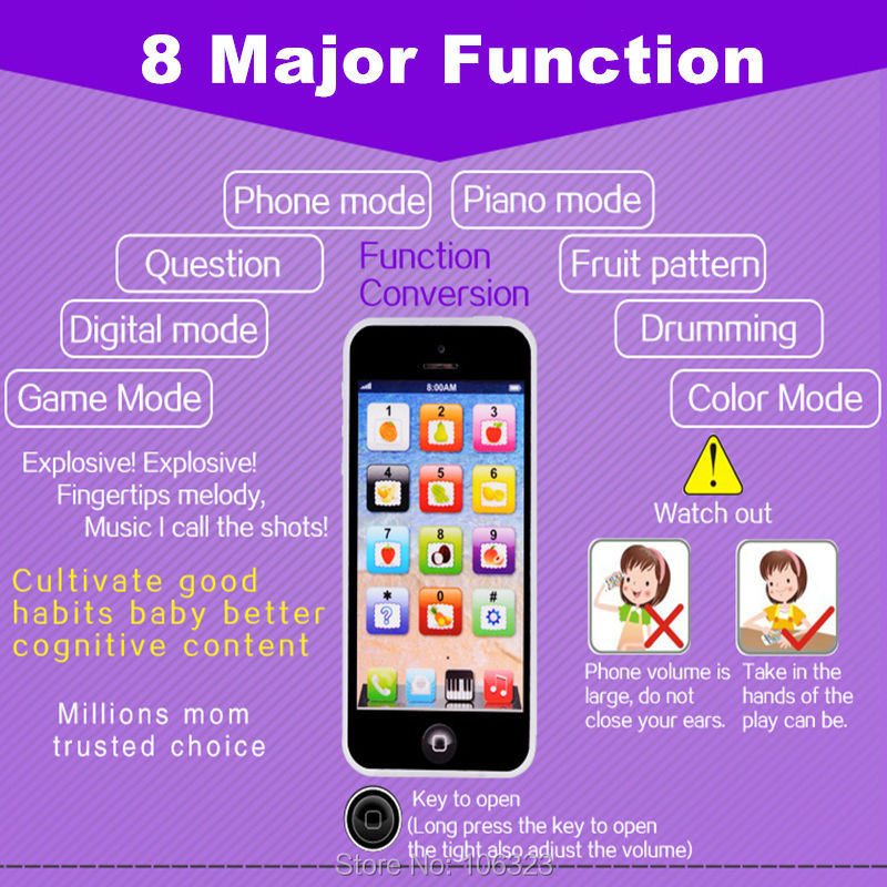 Y-Phone-English-Touch-Learning-Machine-Toy-Children-Y-phone-Fun-Learning-Toys-Chargable-by-USB-Baby-Educational-Gift-LED-Light-2