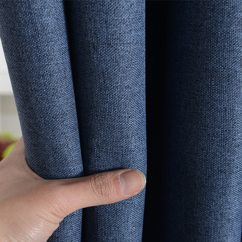 Langsam Seele Grau Beige Braun Grün Reiner Baumwolle Tuch Vorhang  Leinenschirm Dicke Vorhänge Für Wohnzimmer Küche Schlafzimmer