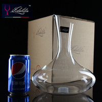 Wholesale crystal decanter unleaded glass wine decanter Italy Rita wine decanter