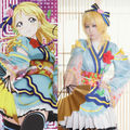Lovelive Love Live Angelic Angel Ayase Eli Kimono Uniform Dress Outfit Anime Cosplay Costumes