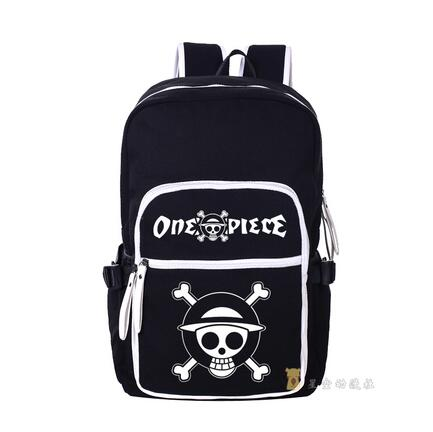High Q Japanese style Anime One piece Backpack large capacity Students  BACKPACK Computer bagHigh Q Japanese style Anime One piece Backpack large capacity Students  BACKPACK Computer bag