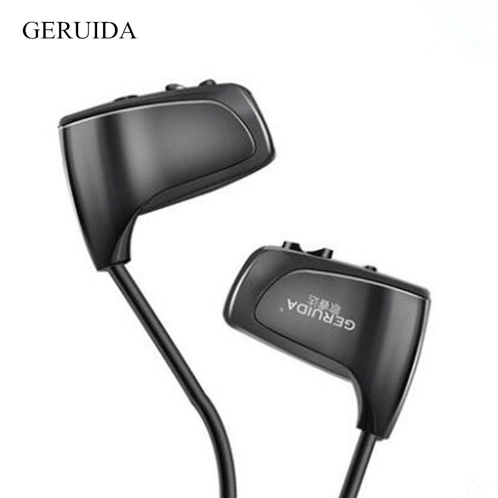 New 8Gb Mini Sports MP3 Player Earphones Running Fitness Music Players Headphones