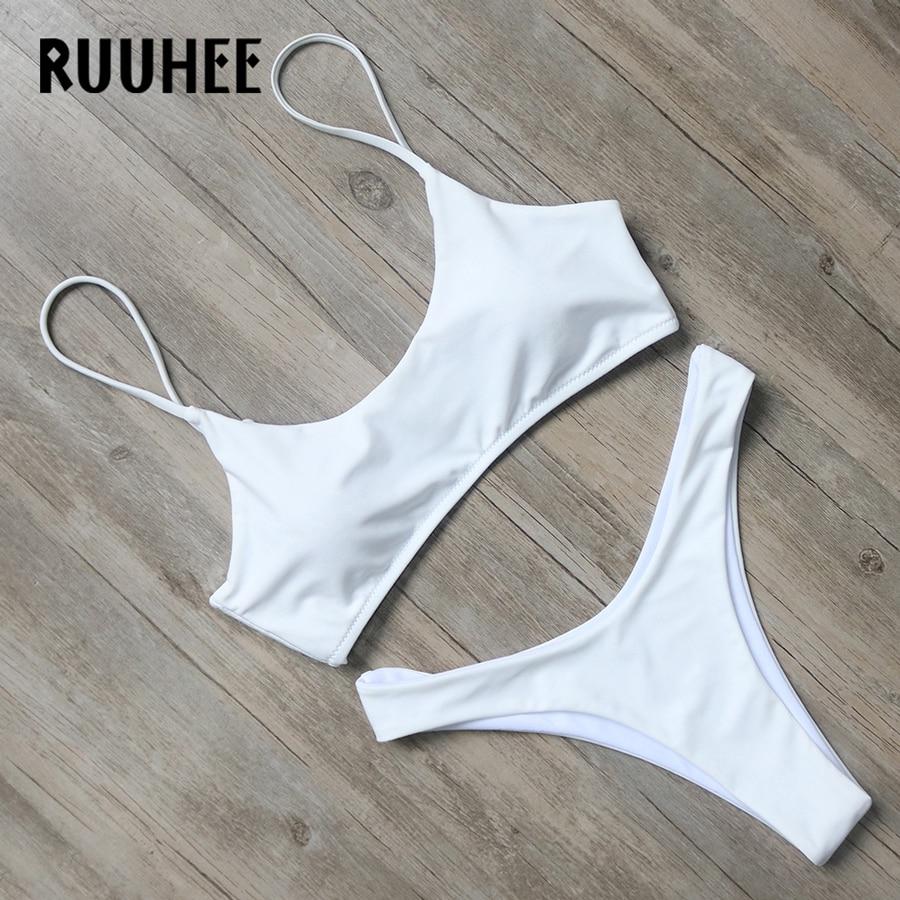 RUUHEE Bikini Swimwear Women 2017 Swimsuit Bathing Suit Brazilian Beachwear Push Up Bikini Set Maillot De Bain Biquini Swim Wear