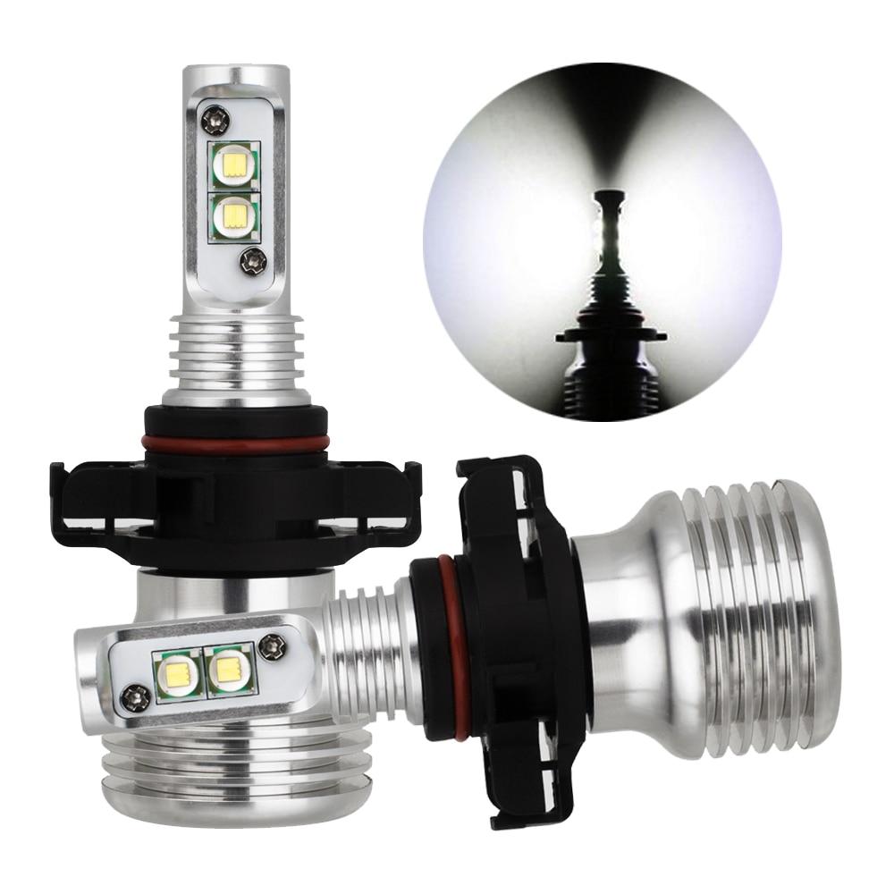 Auto Fog Lights h7 LED Bulb Original Fog Lamp H8 9006 HB4 12V 40W Canbus H16 Fog Light Bulbs Replacment Car Light Sourcing