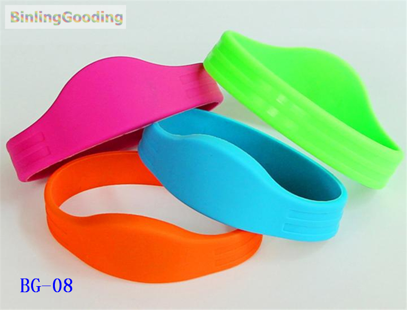 Access Control Access Control Cards Inventive Bg-08 100pcs/lot 125khz Em4100 Tk4100 Rfid Wristband Bracelet Read Only Id Card For Swimming Pool Sauna Room Gym Ture 100% Guarantee