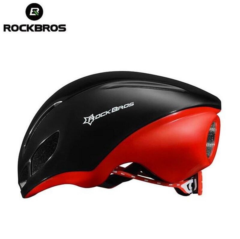 RockBros Aero Cycling Road Bike Helmet Lightweight Aerodynamic Cycling Helmet Bicycle EPS Breathable Helmets for Men Women rockbros titanium alloy cycling bicycle seatpost 31 8mm 535mm